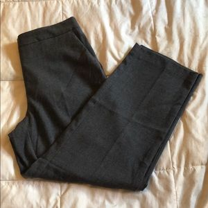 Zara Wool Straight Leg Pant